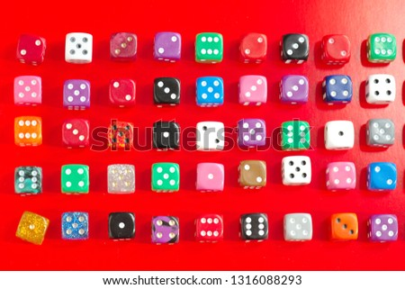 random numbers dice, dice #1316088293