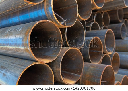 range of metal products. Channel, double tee, circle steel, steel pipe, steel square pipe, steel sheet