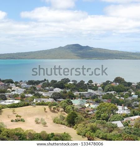 Rangitoto Island and the Hauraki Gulf, Auckland, New Zealand