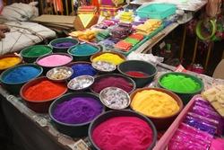 Rangoli (Coloured) Powder on Diwali