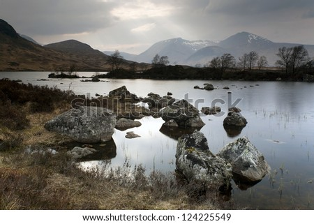 Rannoch Moor, Highlands, Scotland, Europe