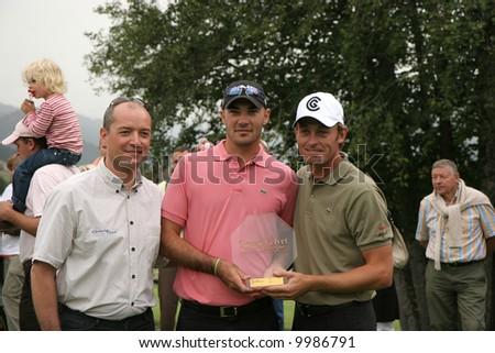 Raphael Jacquelin,  Havret, Green Velvet golf pro-am, 2006, a Fabrice Tarnaud (swing-partners) organisation #9986791