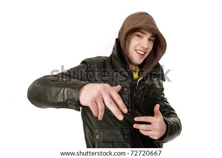 rapper - stock photo