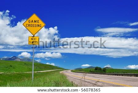 Rare Road Sign on I-15 through Idaho.