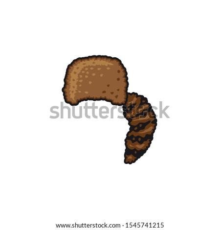 Rare simple brown headgear icon