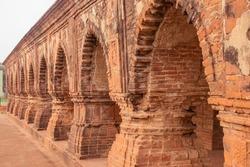 Rasmancha Terracotta temple of bisnupur India