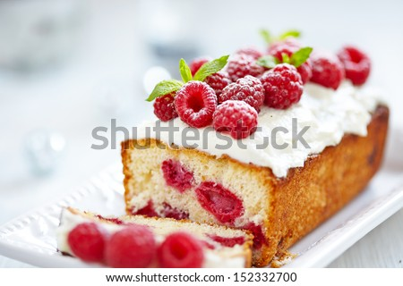 Raspberry Cake for holidays #152332700