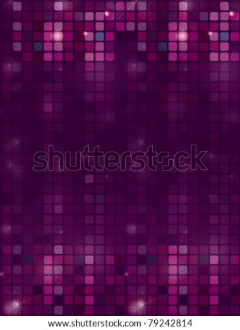 RASTER Background with shining disco-ball pattern