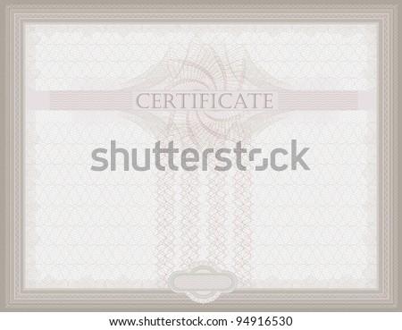 raster Certificate Guilloche horizontal security spirograph