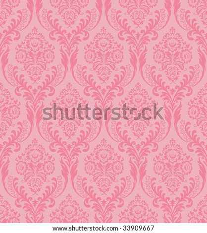 raster. seamless damask background