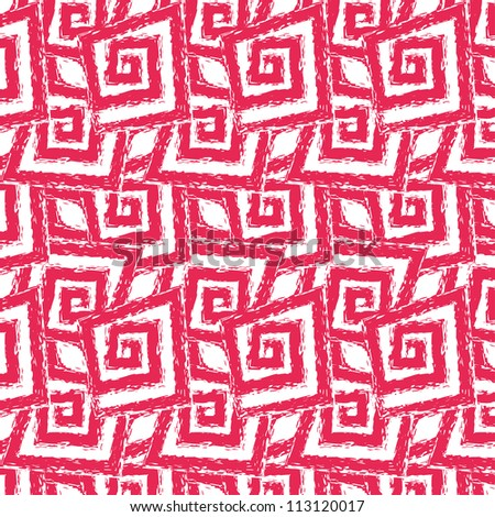 raster seamless hand drawn abstract pattern background