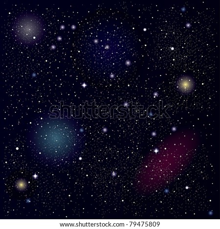 raster space background