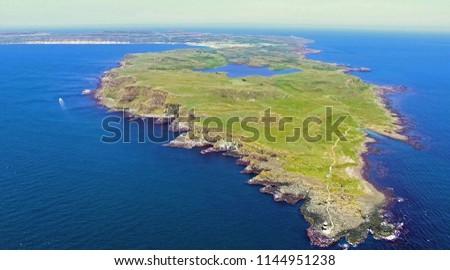 Rathlin Island Atlantic Ocean Co. Antrim Northern Ireland 2018 Stock photo ©