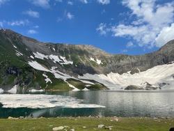 ratigalli lake view in Azad jammu Kashmir