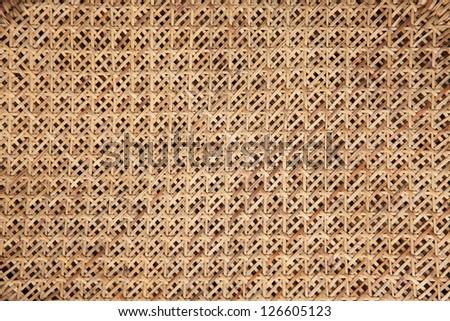 Rattan background, texture