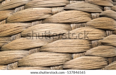 rattan close up background