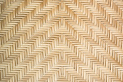 Rattan texture pattern background. Classic pattern of woven bamboo wooden wicker, a part of rattan furniture texture for background and wallpaper