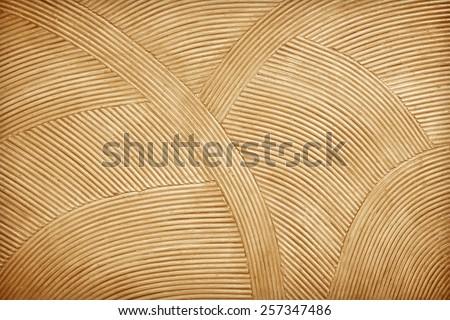 Rattan wall decorative background