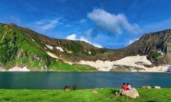 Ratti Gali Lake Main View AJK PAKISTAN