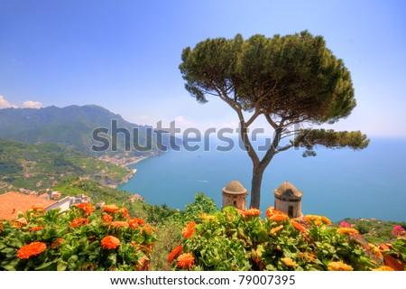 Ravello, amalfi coast, naples, italy