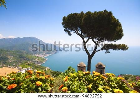 Ravello, Amalfi Coast, Naples, italy.