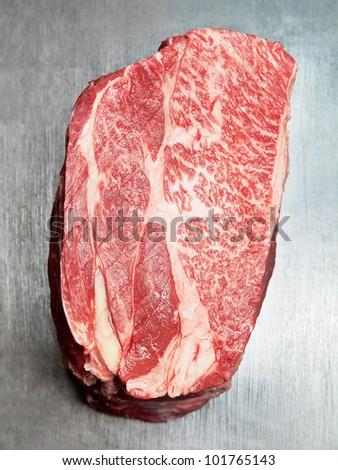 raw best quality ox meet