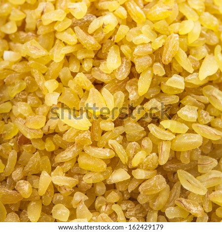 Raw bulgur close up as a background #162429179