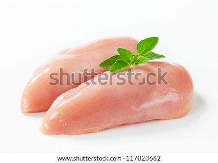 Raw chicken breast fillets  Сток-фото ©