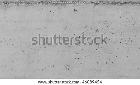 Raw concrete background - (16:9 black and white) - stock photo