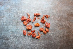 Raw dried organic Mace spice