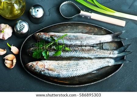 raw fish Zdjęcia stock ©