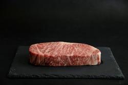 Raw Japanese Wagyu Thick Steak