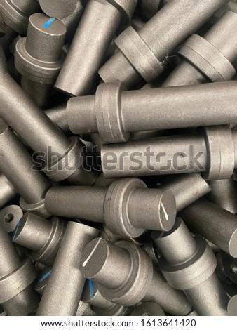 Raw materials steel industrial finish goods
