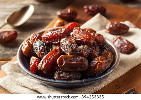 Raw Organic Medjool Dates Ready to Eat #394253335