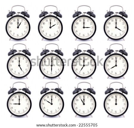 RAW – Time Collection of Alarm Clock #22555705