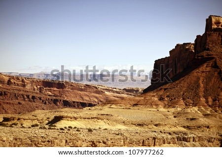 Raw Utah Rocky Landscape. Utah State - United States of America. Utahs Photo Collection.