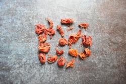 Raw whole dried organic Mace spice