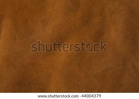Rawhide Buffalo Leather, XXL size background - stock photo