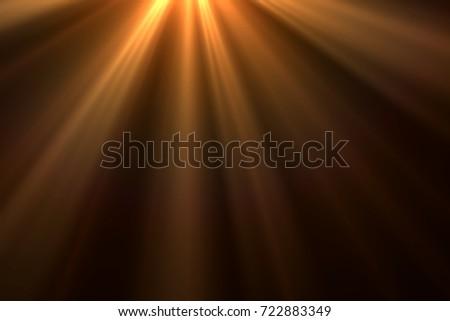 Ray of lights isolated on black background for overlay design or screen blending mode - Shutterstock ID 722883349