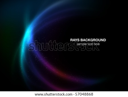 Rays background - stock photo