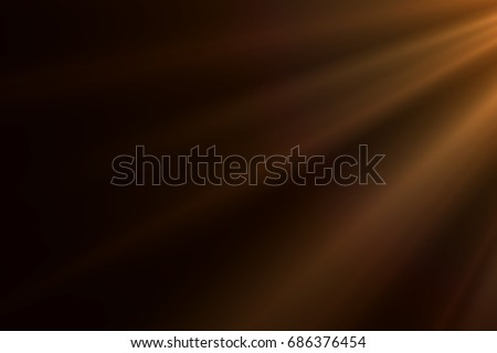 rays light effect isolated on...
