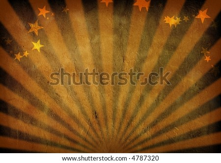 Rays of light grunge - stock photo