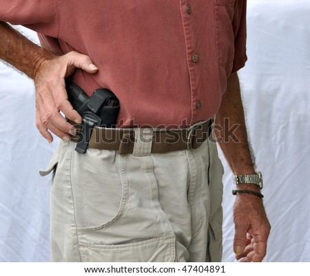Reaching For Concealed Weapon