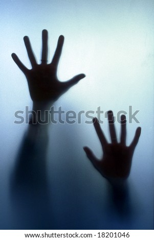 Reaching for help - stock photo