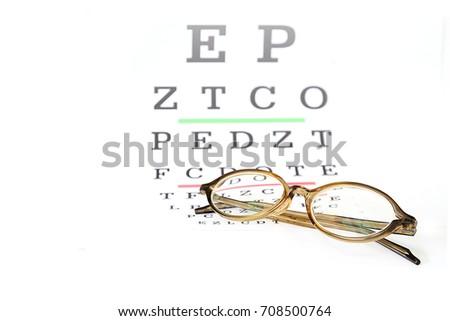 Free Photos Reading Eyeglasses And Eye Chart Avopix