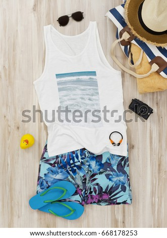 Ready for the beach clothing #668178253