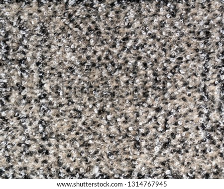 fe3f65d2a37 Real beige heather knitted fabric made of wool fibres textured background. Fabric  texture. #