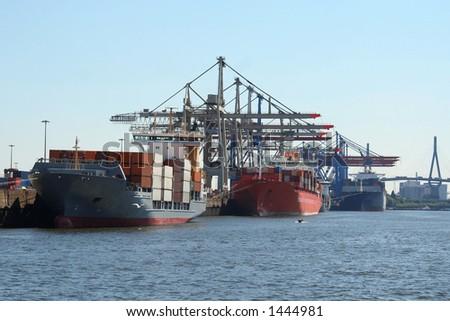 real big ships
