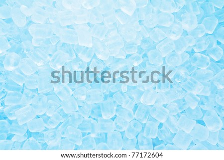 Real cool ice cube frozen background