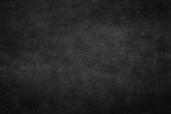 Real dust chalkboard background texture in art university college concept back to school kid wallpaper for create chalk text, Teacher day. Empty blank education wood wall blackboard. Food backdrop.